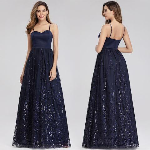 Ever-Pretty Womens Elegant Sweetheart Sleeveless Prom Dresses for Women 00977