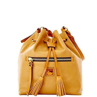 Dooney & Bourke Newbury Leather Logan (Introduced by Dooney & Bourke at $298 in Sep 2015) - Desert