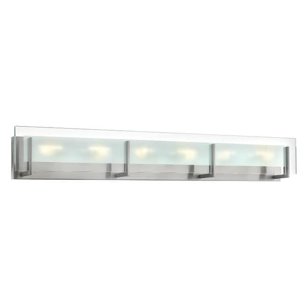 Hinkley Lighting 5656 6 Light ADA Compliant Bath Bar from the Latitude Collection