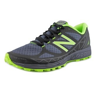 New Balance WTSU Men Round Toe Synthetic Black Trail Running