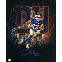 Odell Beckham Jr. Signed 16x20 New York Giants Collage Photo JSA