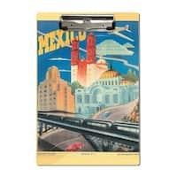 Mexico c. 1944 - Vintage Advertisement (Acrylic Clipboard)