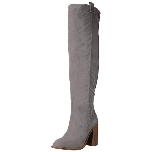 ae0f0f37f71 Shop Very Volatile Womens nate Fabric Almond Toe Over Knee Fashion Boots -  Free Shipping On Orders Over  45 - Overstock - 21346259