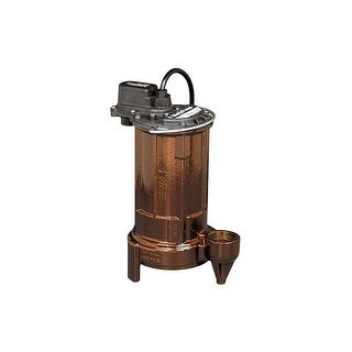 Liberty Pumps 280 PUMP 1/2 HP Cast Iron Submersible Sump Pump (Non-Automatic)
