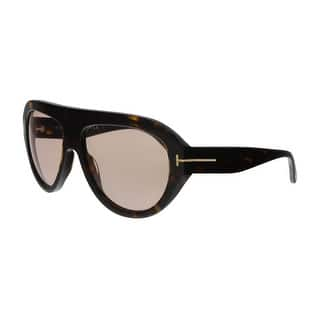 5f5354d8acf Tom Ford FT0589 52Y Felix-02 Havana Aviator Sunglasses - No Size