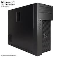 Dell Precision T1700 TW Intel i7-4770 3.40GHz, 16G, 512GB SSD Radeon 4650, DVD, WIFI, BT 4.0, WIN10P64(EN/ES)-Refurbished