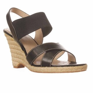 Tahari Womens KANDI Leather Open Toe