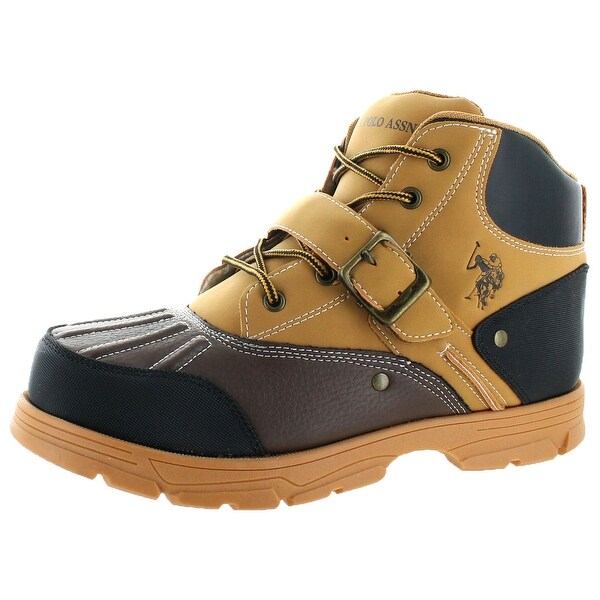U.S. Polo Assn. Kedge Men's Buckle Duck Toe Boots