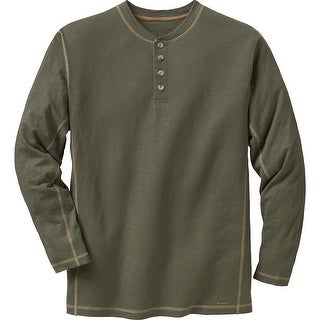 Legendary Whitetails Men's Maverick Slub Henley (Option: Khaki)
