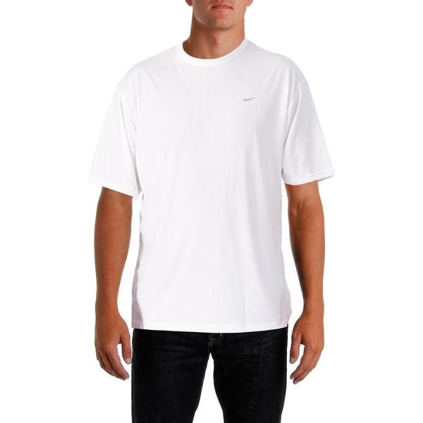Nike Mens T-Shirt Stay Dry Short Sleeves - L
