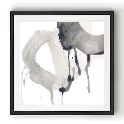 Swath IV -Black Framed Print