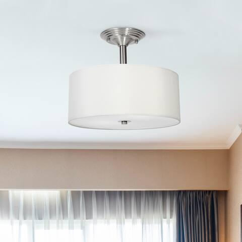 CO-Z 2-light Semi-Flush Mount Ceiling Light