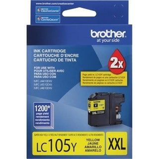 Brother LC105YY Brother Printer LC105Y Super High Yield Cartridge Ink