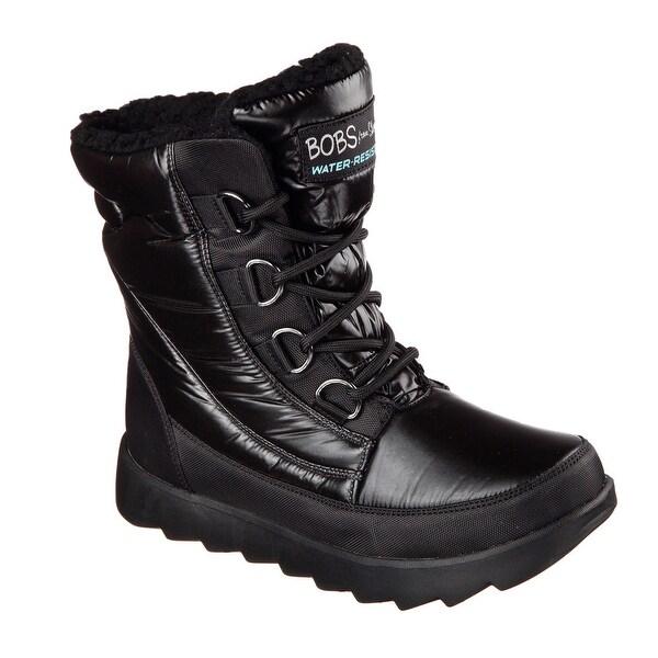 Skechers 34355 BBK Women's BOBS MEMENTOS - SNOW CAP Boot