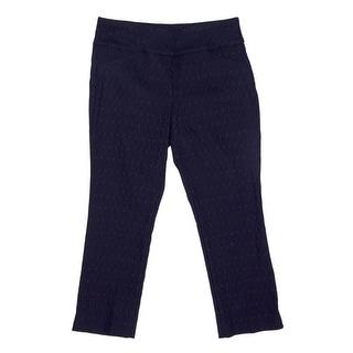 Charter Club Cambridge Capri Women Regular Cropped Pants