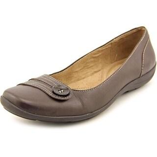 Naturalizer Farrow Women Round Toe Leather Flats