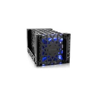 Black Icy Dock Black Vortex MB174U3S-4SB Drive Enclosure External