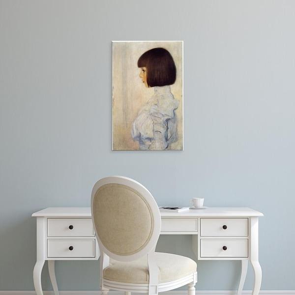 Easy Art Prints Gustav Klimt's 'Helene Klimt' Premium Canvas Art