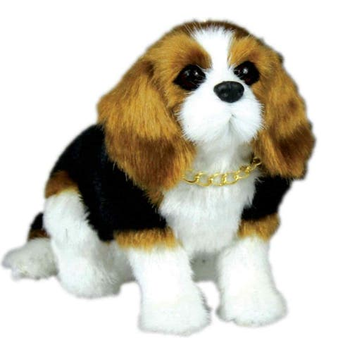 Doll Pet Animals Beagle Puppy Dog Accessory Sized for 18 Inch American Girl Dolls