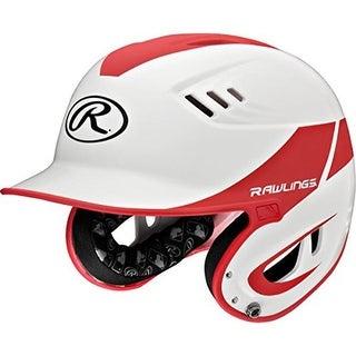 YCS Rawlings Velo Series Junior 2-Tone Home Batting Helmet - Red