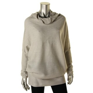 Kiind Of Womens Tori Oversized Mock Turtleneck Pullover Sweater - L