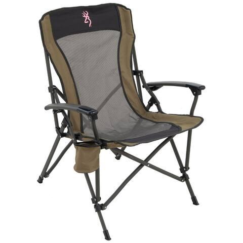 Browning Fireside Chair - Pink Buckmark