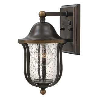"""Hinkley Lighting 2646 1 Light 11"""" Height Outdoor Lantern Wall Sconce from the Bolla Collection"""