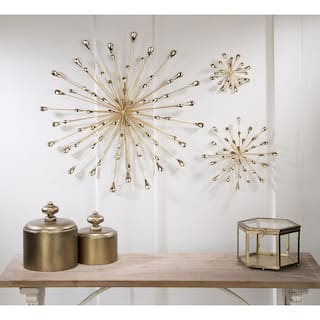 Art gallery for less overstock tripar medium gold starburst wall art solutioingenieria Images
