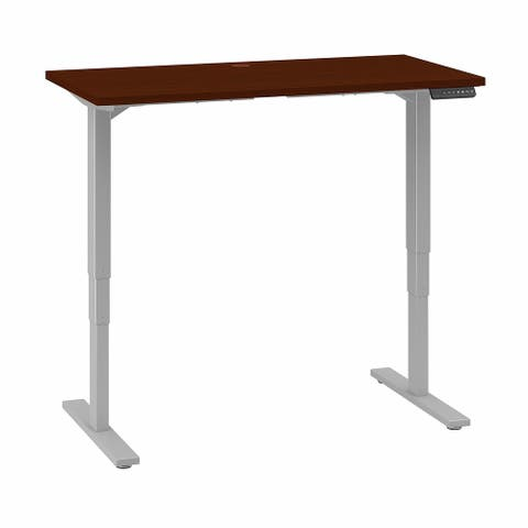 Move 80 Series 48W x 24D Height Adjustable Standing Desk in Cherry