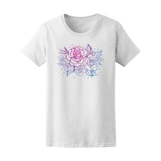Vintage Beautiful Roses Tee Women's -Image by Shutterstock