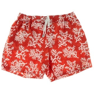 2(X)Ist Mens Printed Partially Lined Swim Trunks - L