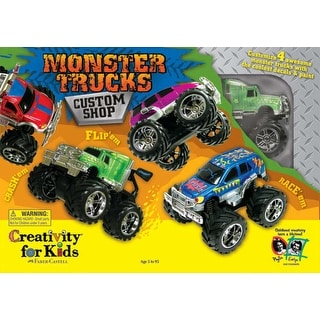 Monster Trucks Custom Shop Kit