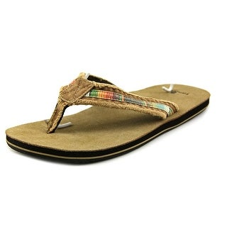 Sanuk Fraid So Open Toe Canvas Flip Flop Sandal