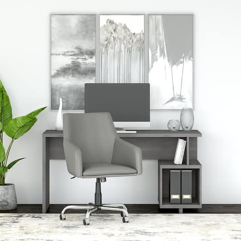 Madison Avenue 60W Writing Desk and Chair Set from kathy ireland® Home
