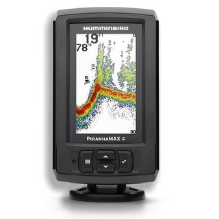 "Humminbird 4.3"" 256 Color Display Fishing System with Dual Beam Sonar - 600ft Depth"