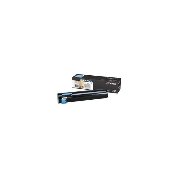 Lexmark High Yield Toner Cartridge - Cyan X945X2CG High Yield Toner Cartridge - Cyan