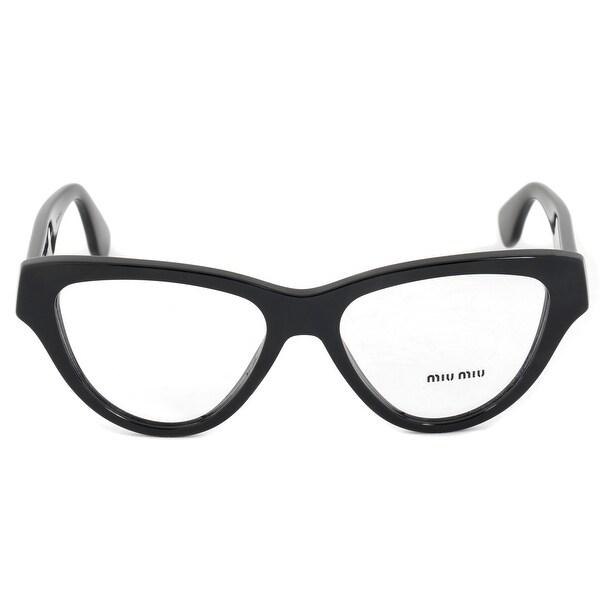 6a528f7ec78 Shop Miu Miu SMU10NV 1AB1O1 Cat Eye