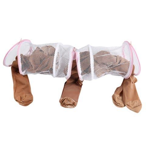Innovative Home Creations Mesh Hosiery Laundry Bag - Zippered Garment Wash Bag Protects Delicates, Panythose, Socks