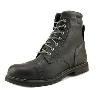 "Timberland Chestnut Ridge 6"" WP Men  Round Toe Leather Black Hiking Boot"