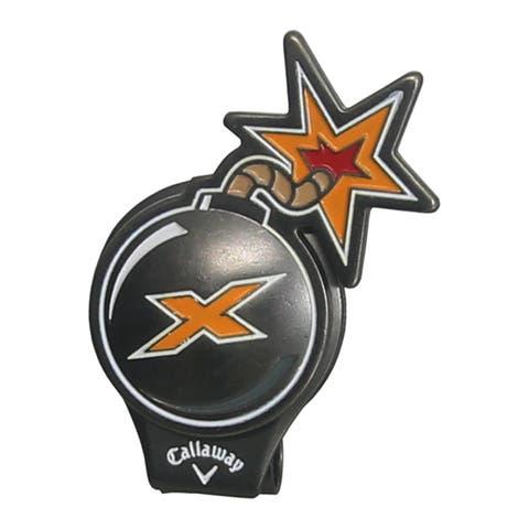 Callaway X-Bomb Hat Clip Golf Ball Marker
