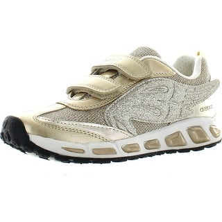 Geox Girls Jr Shuttle Girl Fashion Sneakers - Gold