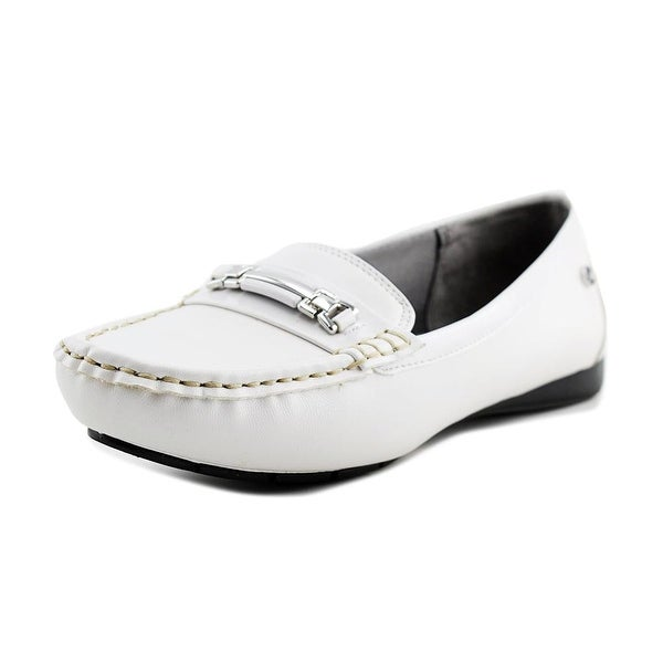 Life Stride Vanity Women Moc Toe Synthetic White Loafer