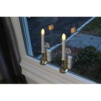 Carolite Pro Solar Powered Flameless Window Candle - Set of 2 or 4