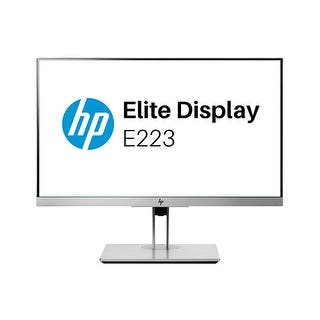 HP EliteDisplay E223 21.5-inch LED Monitor|https://ak1.ostkcdn.com/images/products/is/images/direct/6e91df2ab11854ac1d3c9bad5d07667c36da8b3e/HP-EliteDisplay-E223-21.5-inch-LED-Monitor.jpg?impolicy=medium