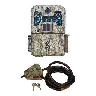 Browning Recon Force BTC7FHD Digital Trail Game Camera with Python Cable - Camouflage