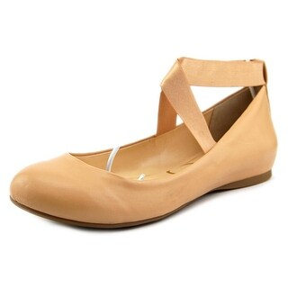Jessica Simpson Mandayss Round Toe Leather Flats