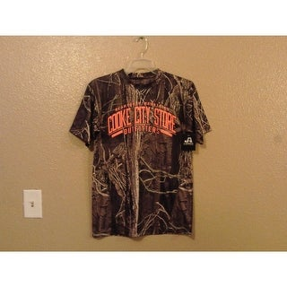 Beartooth Mountains Cooke City Store Adult Small S Camo Athletic shirt