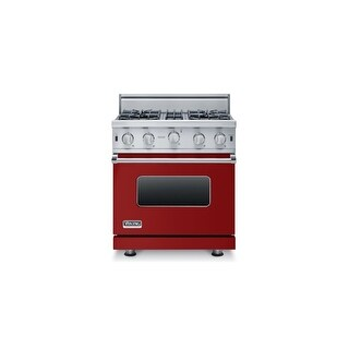 Viking VGIC53014BLP 30 Inch Wide 3.7 Cu. Ft. Freestanding Liquid Propane Range with VariSimmer? Burners and SureSpark? Ignition