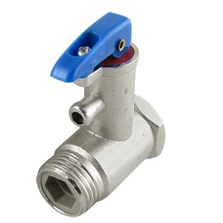 """Electric Water Heater 0.787"""" Male Thread Check Safety Valve"""