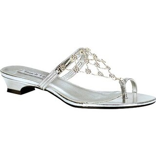 Touch Ups Women's Marcella Silver Mirror